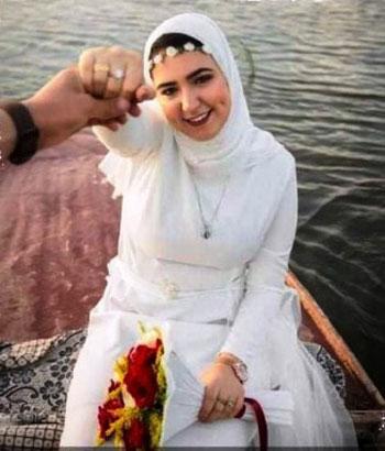 أسرة عروس الجنة تتلقى عزاءها بدلا من التهنئة بزفافها في طوخ (2)