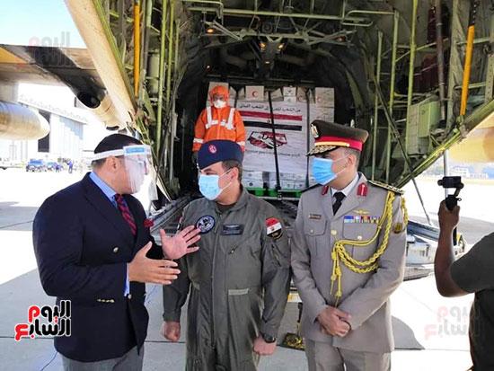 المساعدات المصرية للبنان (1)