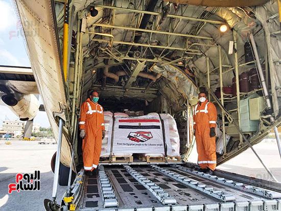المساعدات المصرية للبنان (2)