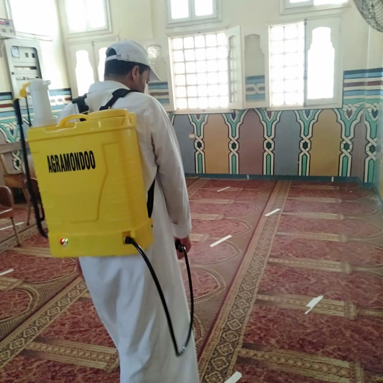 مساجد الدقهلية تستعد لإقامة صلاة الجمعة (2)
