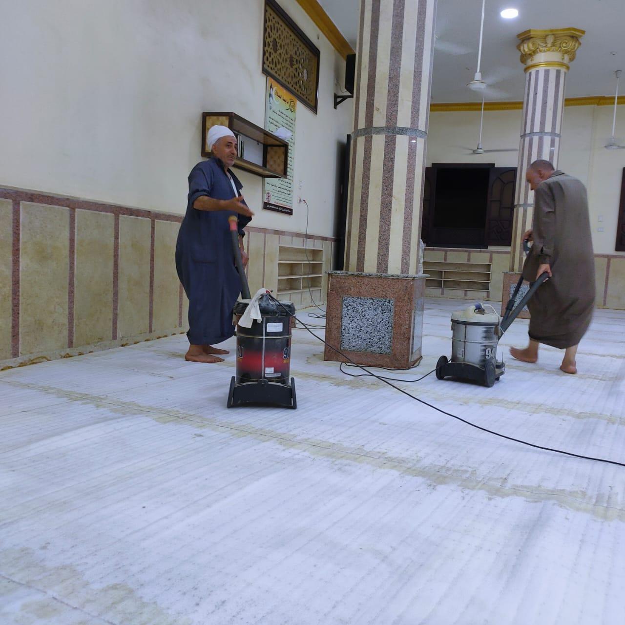 مساجد الدقهلية تستعد لإقامة صلاة الجمعة (3)