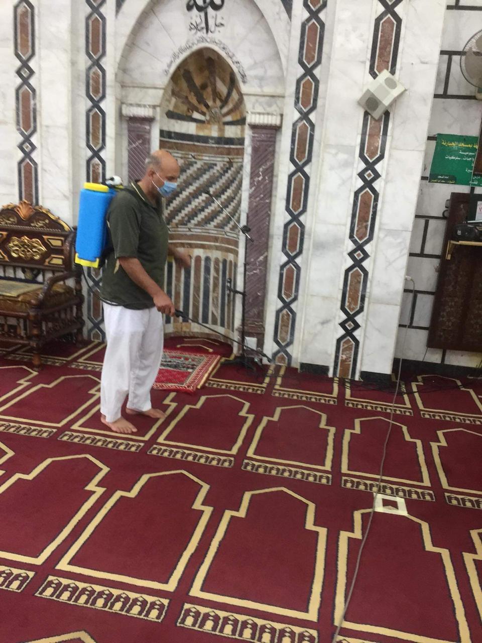 مساجد الدقهلية تستعد لإقامة صلاة الجمعة (1)