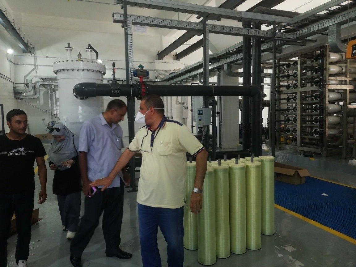 تكنولوجيا حديثة لتحلية مياه البحر وتوفير المياه العذبة لأهالى العريش  (6)