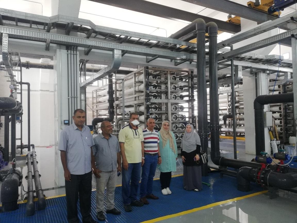 تكنولوجيا حديثة لتحلية مياه البحر وتوفير المياه العذبة لأهالى العريش  (7)