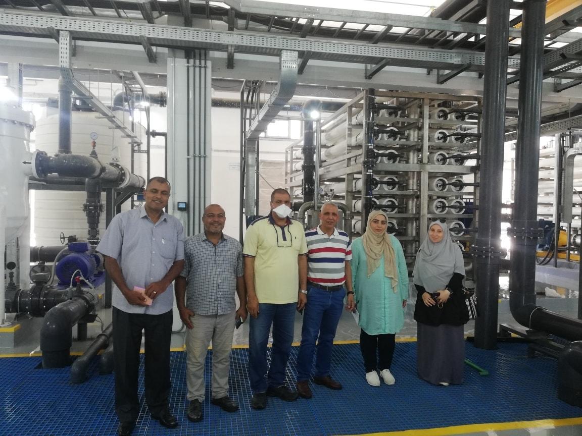 تكنولوجيا حديثة لتحلية مياه البحر وتوفير المياه العذبة لأهالى العريش  (9)