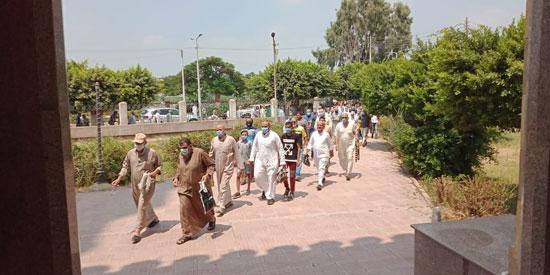 اقبال المصلين على المساجد بالقليوبية (5)