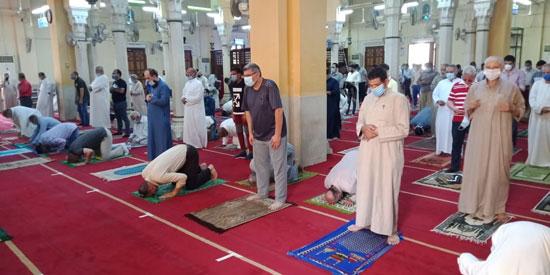 اقبال المصلين على المساجد بالقليوبية (3)