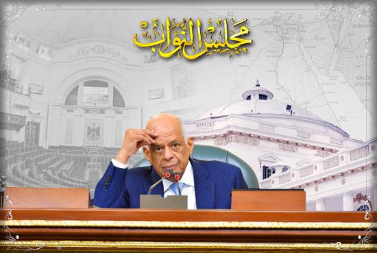 أهم رسائل على عبد العال فى الجلسة الختامية لدور الانعقاد الخامس (1)