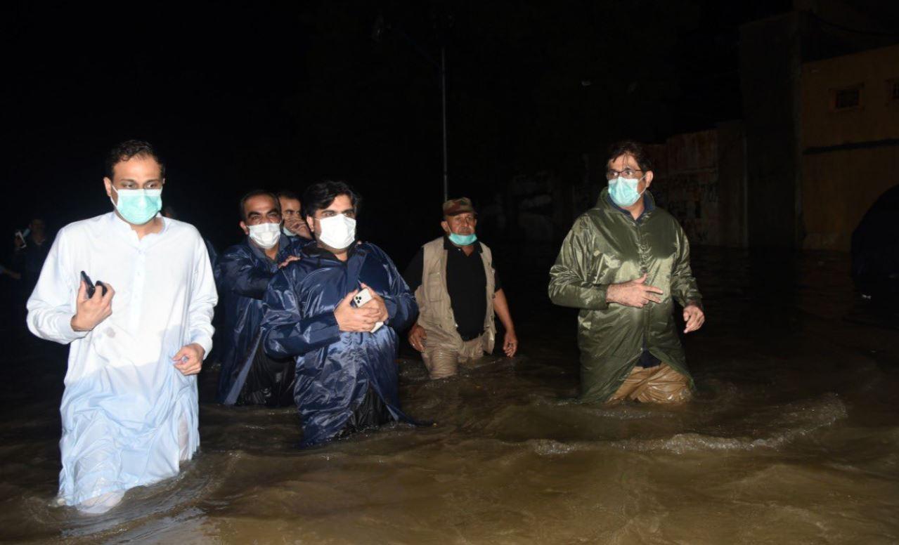 أمطار في باكستان
