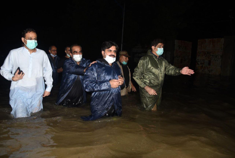 سيول في باكستان