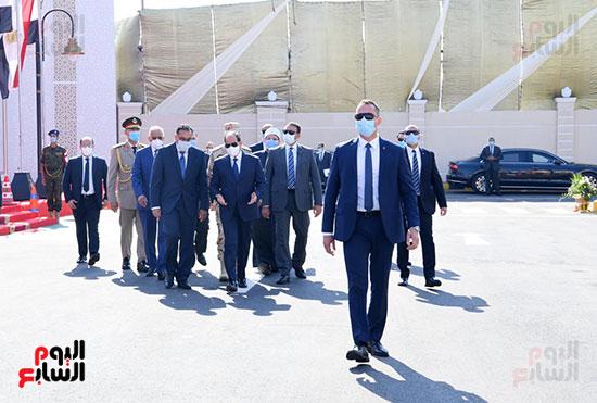 الرئيس-السيسي-يصل-الإسكندرية-لافتتاح-مشروعات-قومية