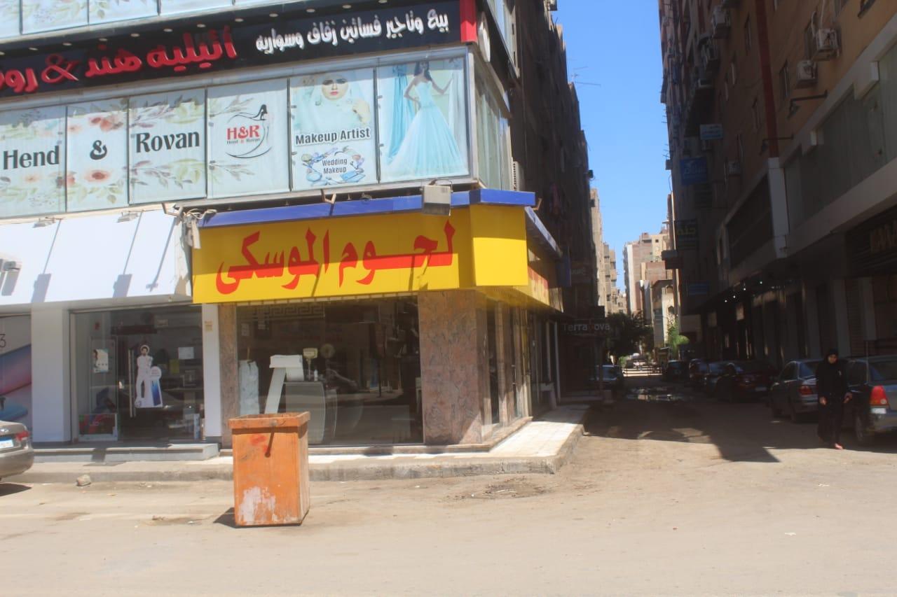 محافظة الجيزة مخلفات وقمامة فى عيد الاضحى (4)