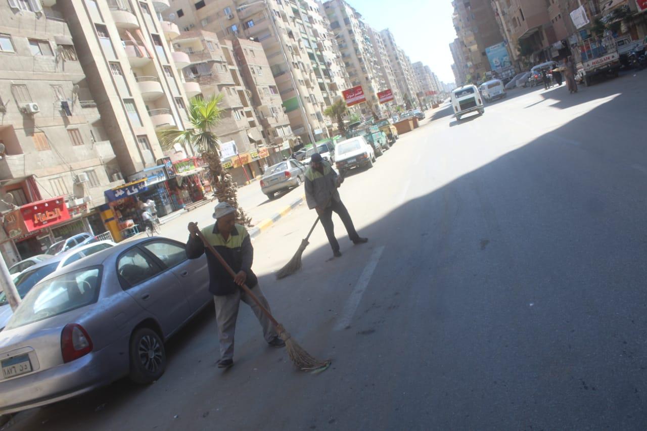 محافظة الجيزة مخلفات وقمامة فى عيد الاضحى (6)