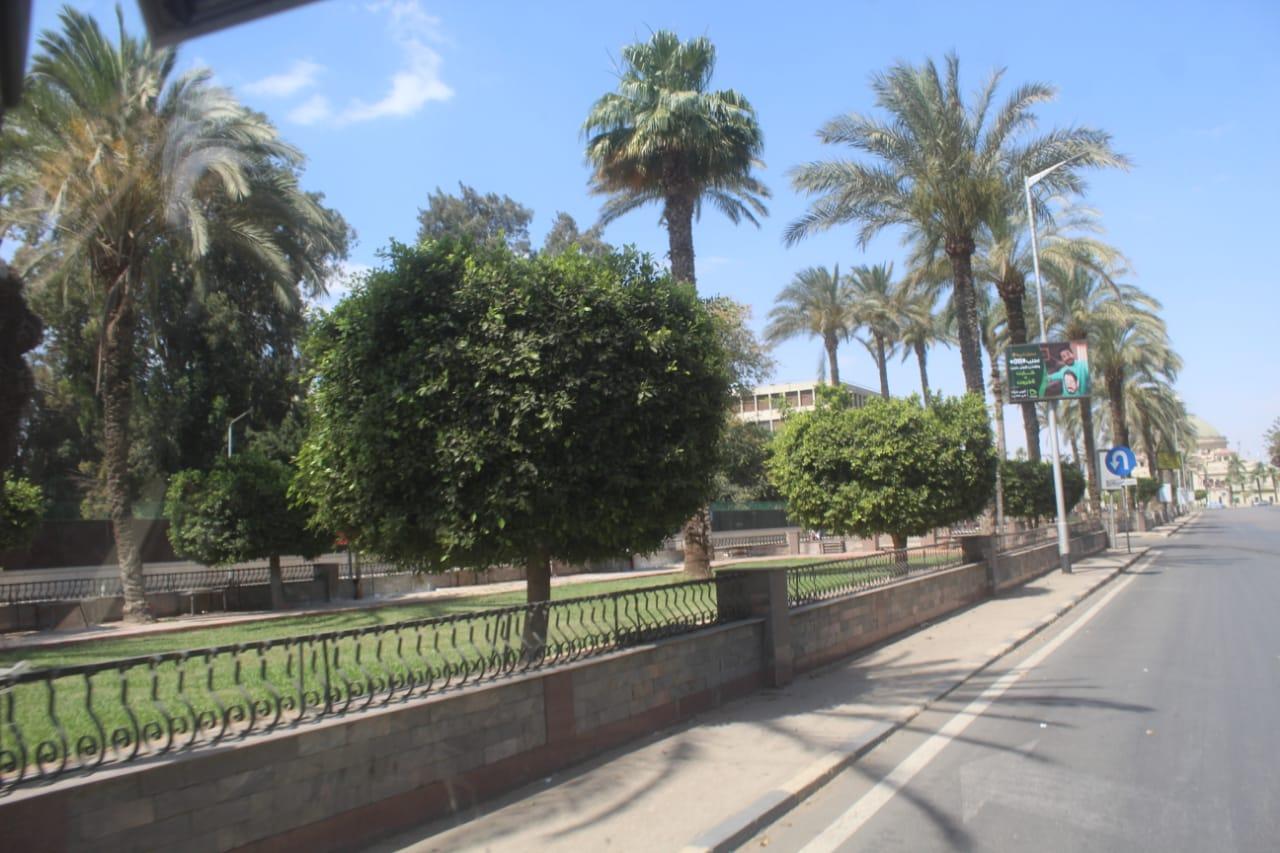 محافظة الجيزة مخلفات وقمامة فى عيد الاضحى (5)