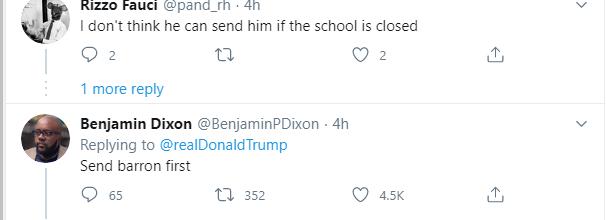 ردود الأمريكيين