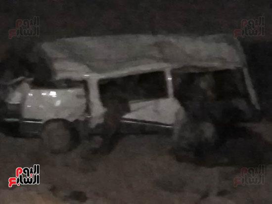 حادث الطريق الصحراوى الشرقى (3)
