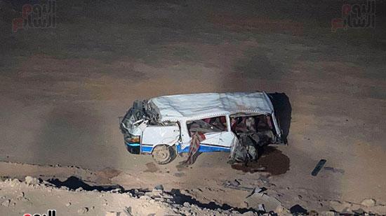 حادث الطريق الصحراوى الشرقى (6)