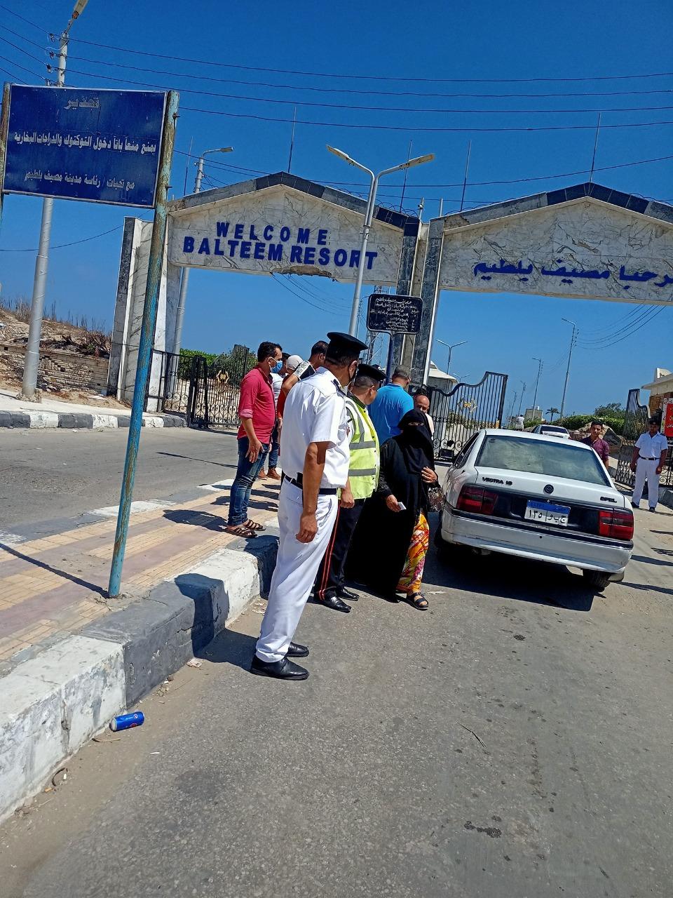 غلق كورنيش النيل بكفر الشيخ (2)