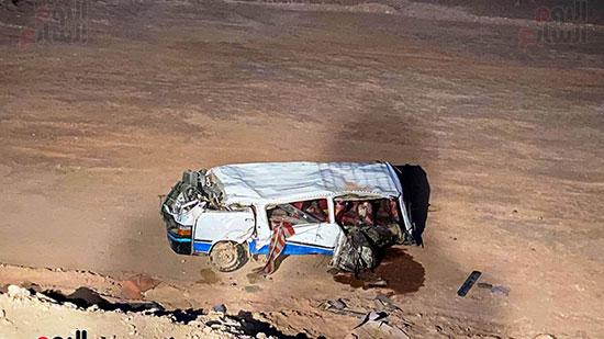 حادث الطريق الصحراوى الشرقى (5)