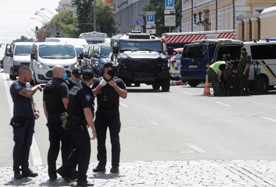 الأمن الاوكرانى