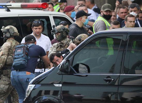 قوات الأمن الأوكرانى تعتقل المشتبه به