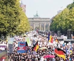 مظاهرات باوروبا