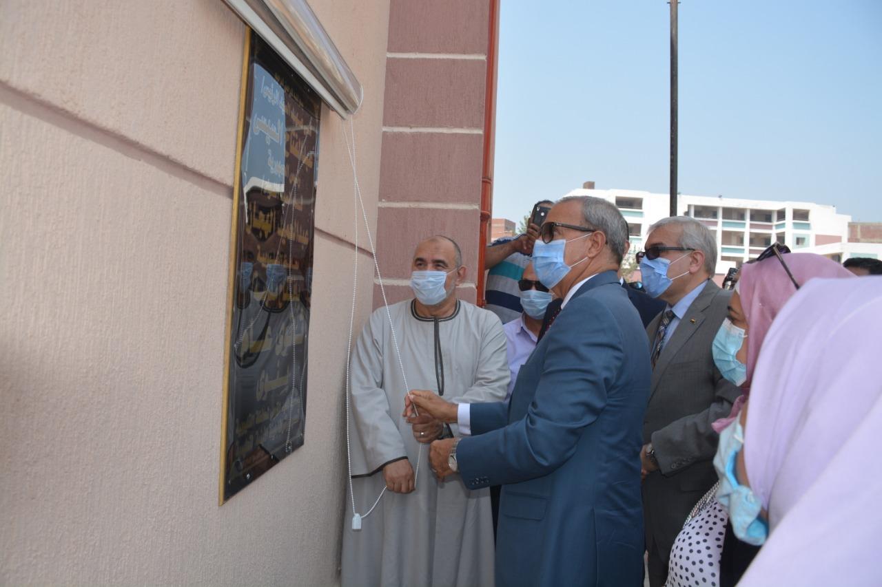 افتتاح المدارس الجديدة