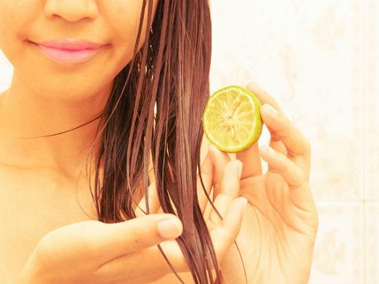 وصفات طبيعية بالليمون لزيادة طول الشعر
