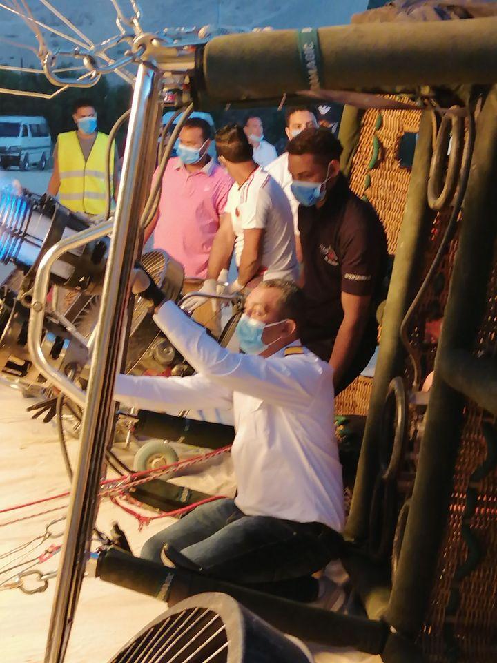 مطار البالون ينهى تجهيزاته والإجراءت الإحترازية قبل عودة الرحلات  (2)