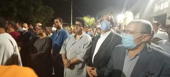 جنازة شهيد الواجب الوطنى النقيب محمد عادل المعصراوى (5)