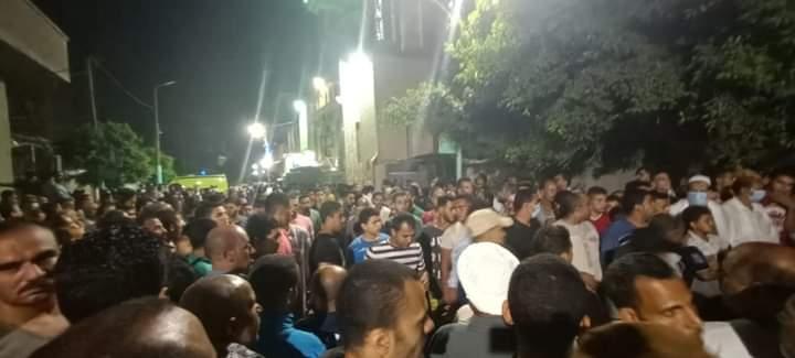 جنازة شهيد الواجب الوطنى النقيب محمد عادل المعصراوى (3)