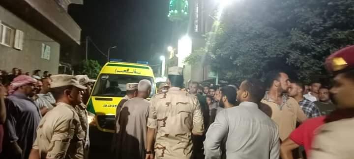 جنازة شهيد الواجب الوطنى النقيب محمد عادل المعصراوى (2)