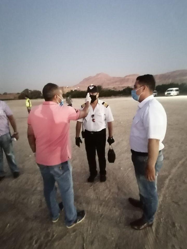 مطار البالون ينهى تجهيزاته والإجراءت الإحترازية قبل عودة الرحلات  (4)