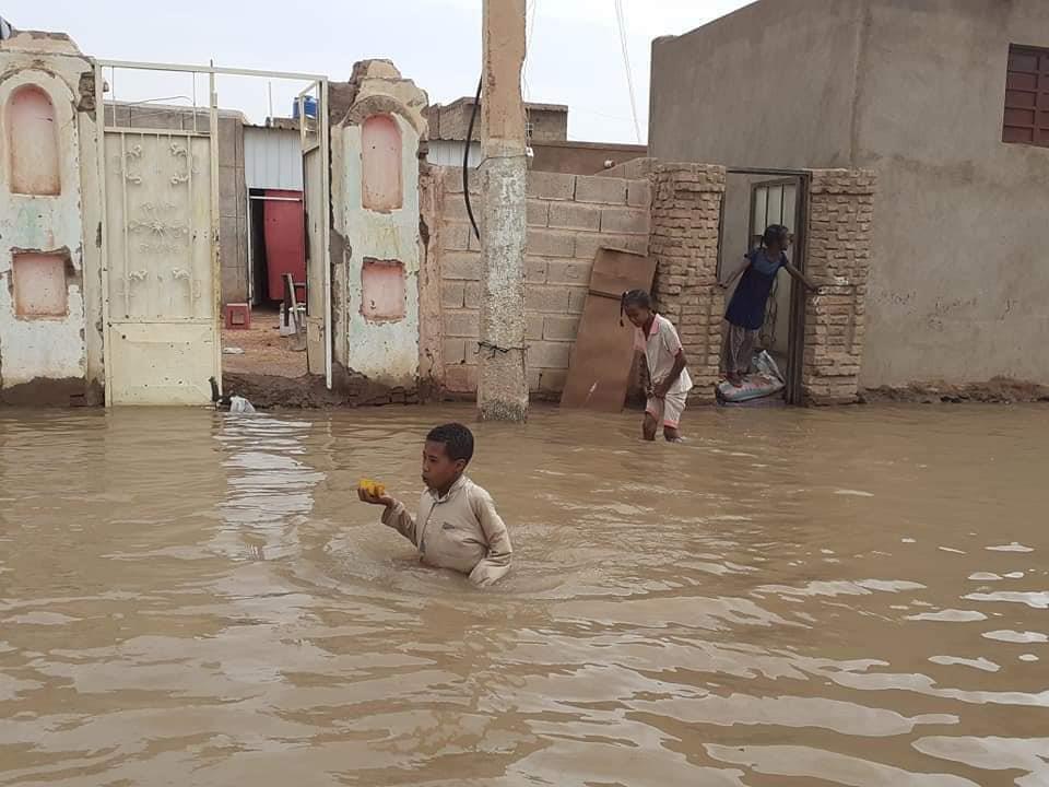 فيضان النيل في السودان