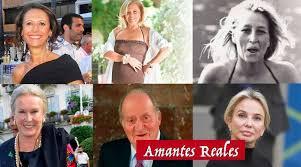 عشيقات ملك اسبانيا السابق