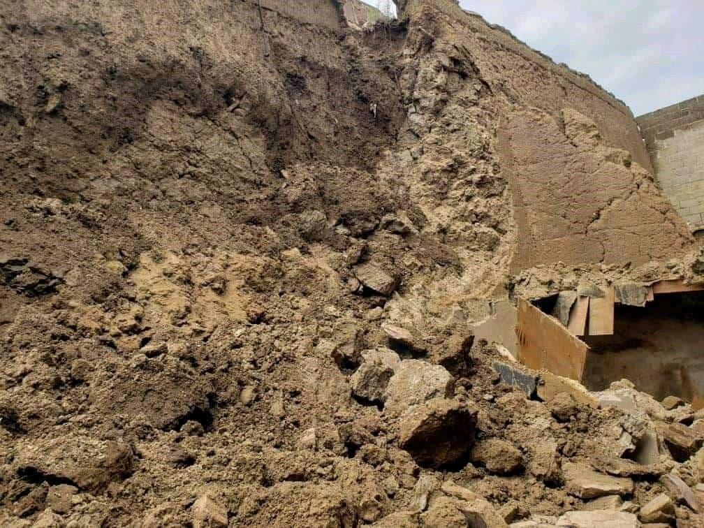 انهيار سور صنعاء الأثرى