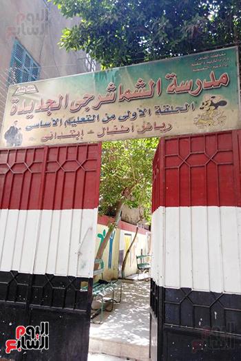مدارس القاهرة تستعد لانتخابات مجلس الشيوخ 2020 (8)