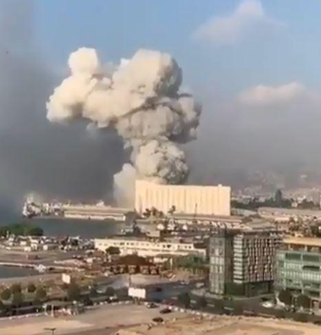 لحظة الانفجار