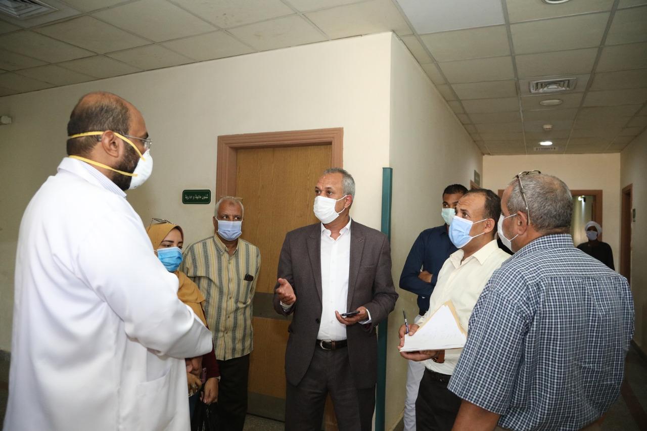 أكبر مستشفيات العزل الصحى بالمحافظات تسجل صفر كورونا  (4)