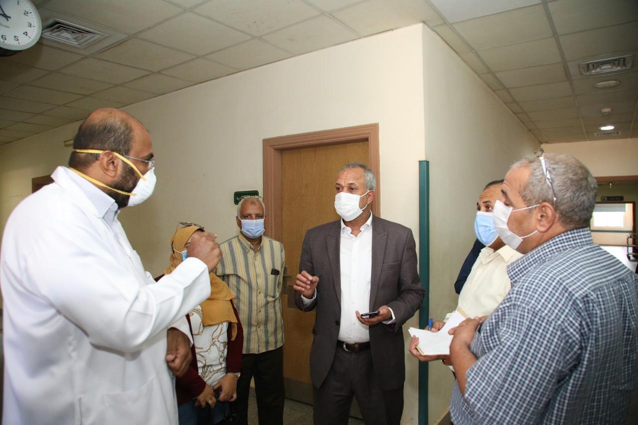 أكبر مستشفيات العزل الصحى بالمحافظات تسجل صفر كورونا  (6)