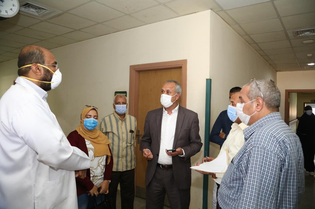 أكبر مستشفيات العزل الصحى بالمحافظات تسجل صفر كورونا  (3)
