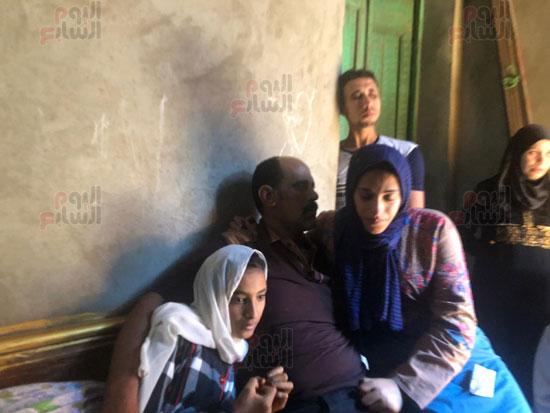 أسرة-ابراهيم-عبد-المحسن-السيد-ضحية-انفجار-لبنان-(1)