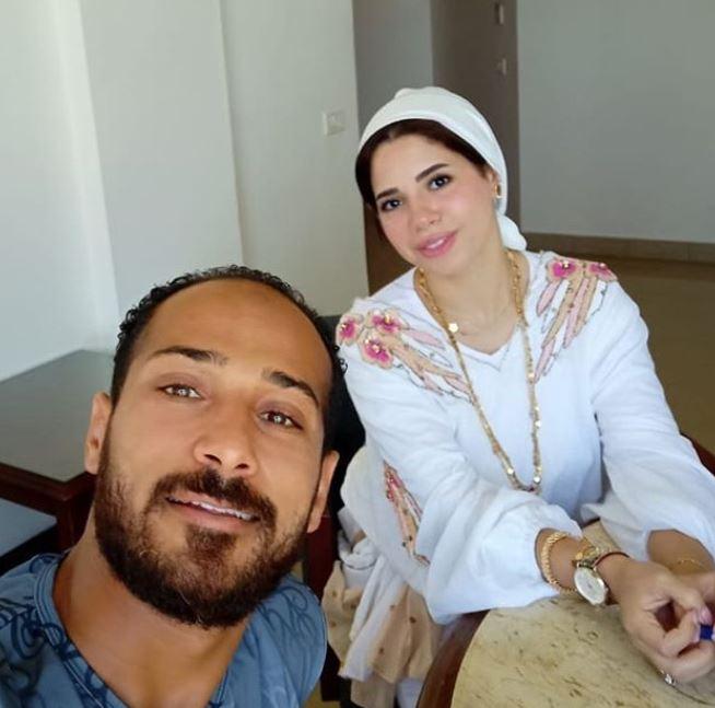 وليد سليمان برفقة ياسمين أمل