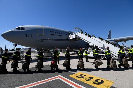 فرنسا أرسلت طائرات مزودة بالمعدات الطبية لشعب لبنان