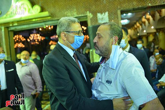 النائب ايهاب العمدة مع امين مجلس النواب السابق