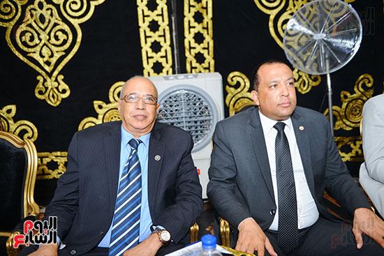 عبدالعظيم بدوي في عزاء محمد المسعود