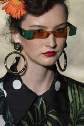موضة النظارات الشمسية
