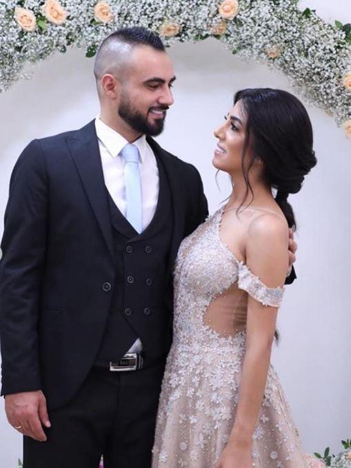 المسعفة اللبنانية سحر فارس مع خطيبها  (2)