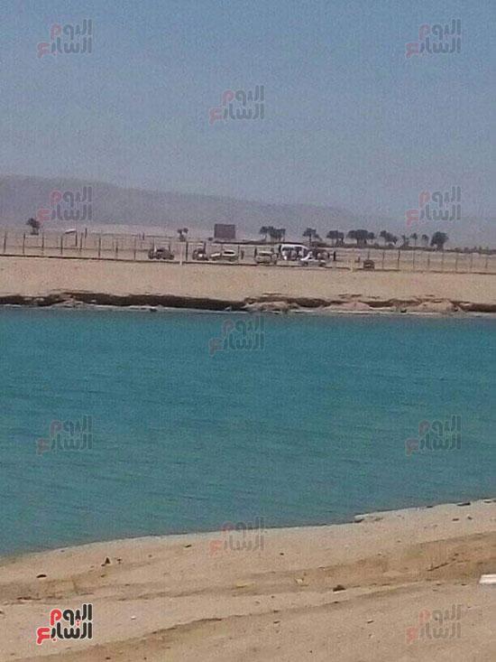 سقوط طائرة خاصة فى مهبط مطار الجونة بالغردقة (1)