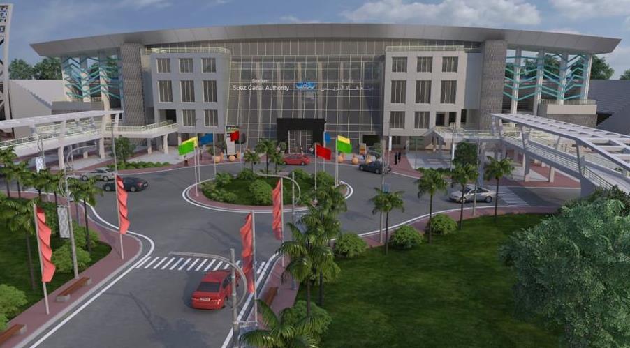 استاد قناة السويس الدولى الجديد (2)